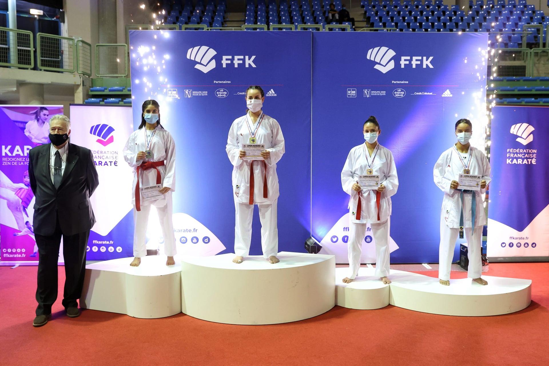 Coupe Adidas Nesrine podium_n